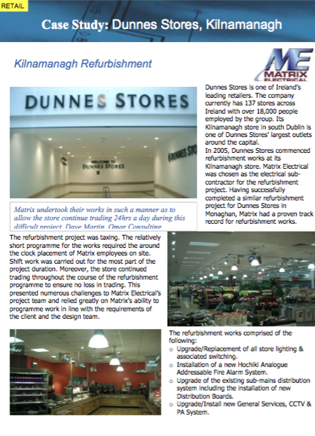 Private - Dunnes Stores Kilnamanagh