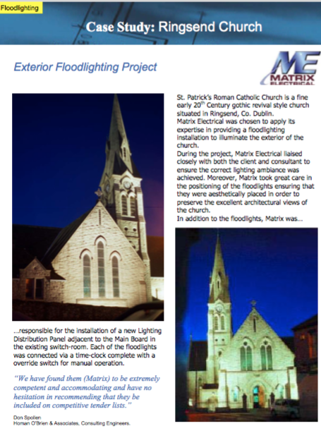 Matrix Refurbishment Project - Ringsend Church